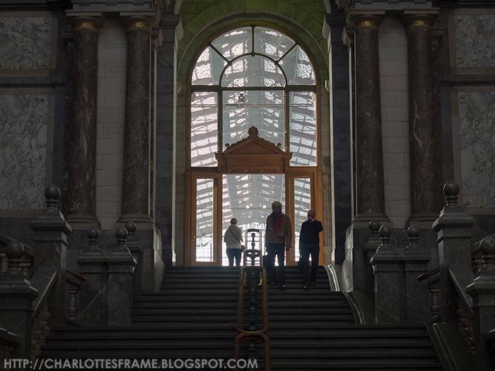 Antwerpen Centraal trappen, Antwerpen Central Station stairs, Antwerpen Centraal Railway Station