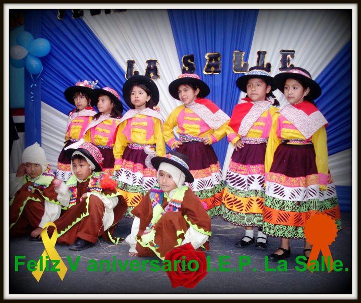 Feliz V aniversario I.E.P. La Salle.