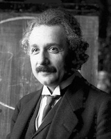 1921 image of Albert Einstein