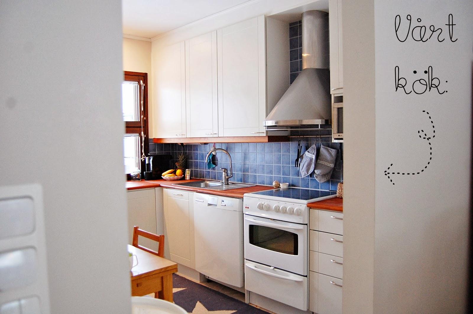 Lilla hanna i stora världen: 25. kolla! här är en bild från mitt kök.