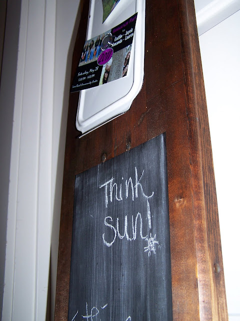 chalkboard repurposed chalkboards http://bec4-beyondthepicketfence.blogspot.com/2014/01/chalkboards-why-do-we-love-them-so.html