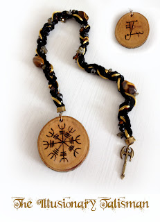 Helm of Awe magical Talisman from MoonsCrafts )0(