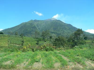 gambar gunung merapi