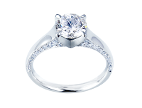 リメイクされたダイヤモンドリングの写真