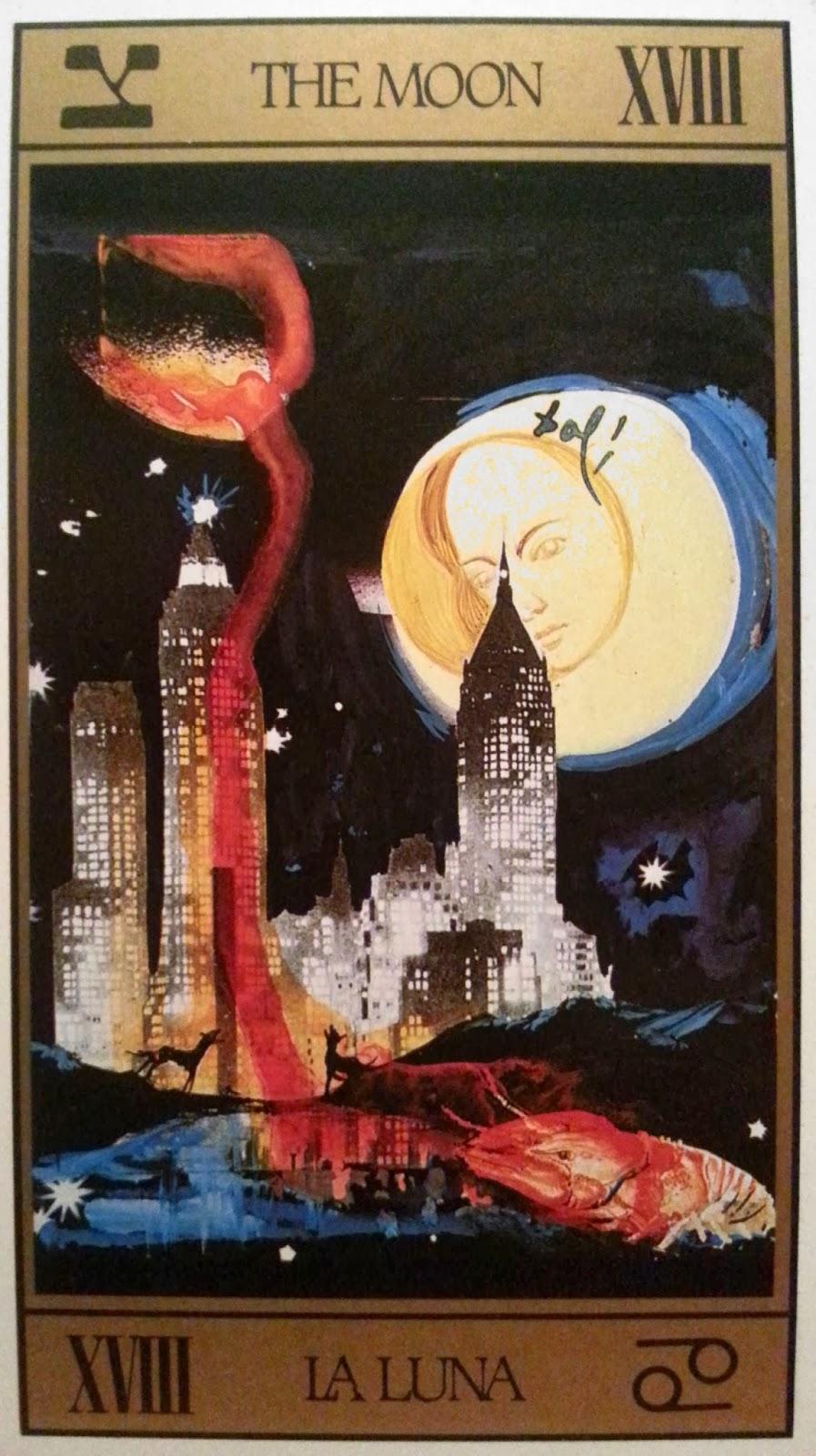 La Luna- Tarot Dalí