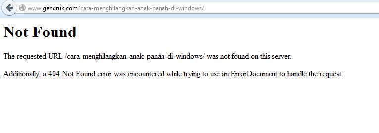 Mengatasi Not Found Ketika Akses Page di Wordpress