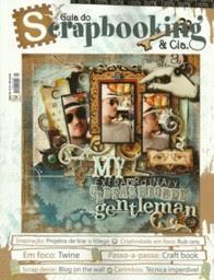 Projeto publicado no Guia do Scrapbooking & Cia. - n° 21 -  Ed. Agosto/2012