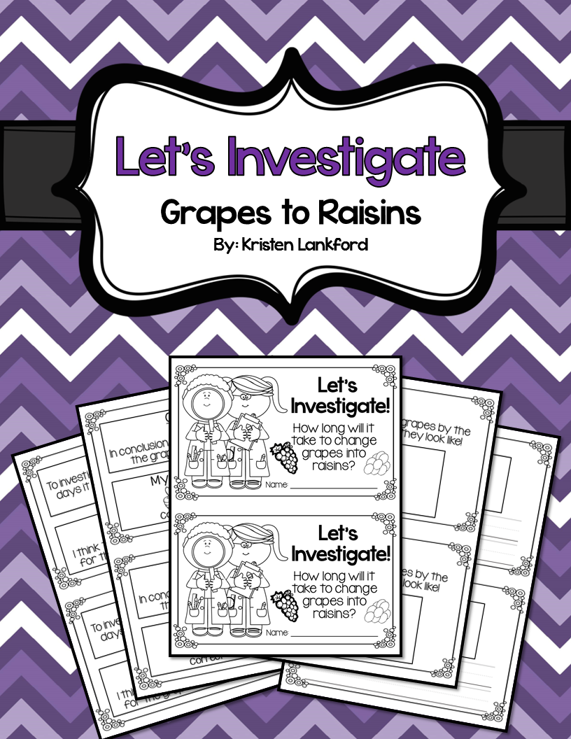 https://www.teacherspayteachers.com/Product/Lets-Investigate-Grapes-to-Raisins-1474117