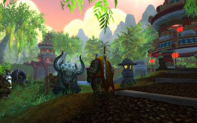 Warcraft Pandaria Panda Disney World Animal Kingdom Ox