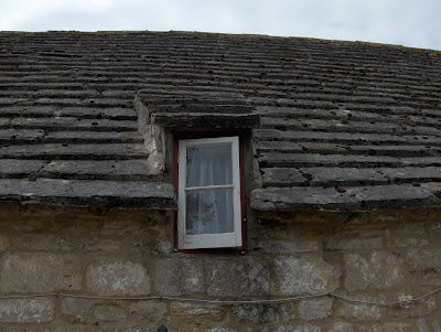 A small window in cottage