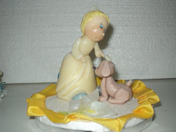 adorno de torta comunion