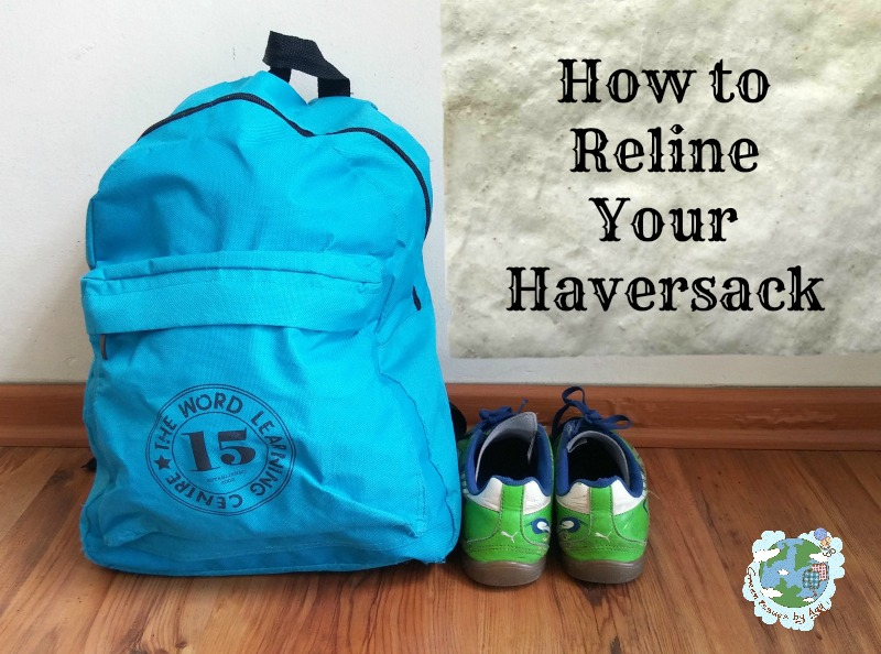 Fix It Friday - How to Reline Your Haversack (Or Bag)