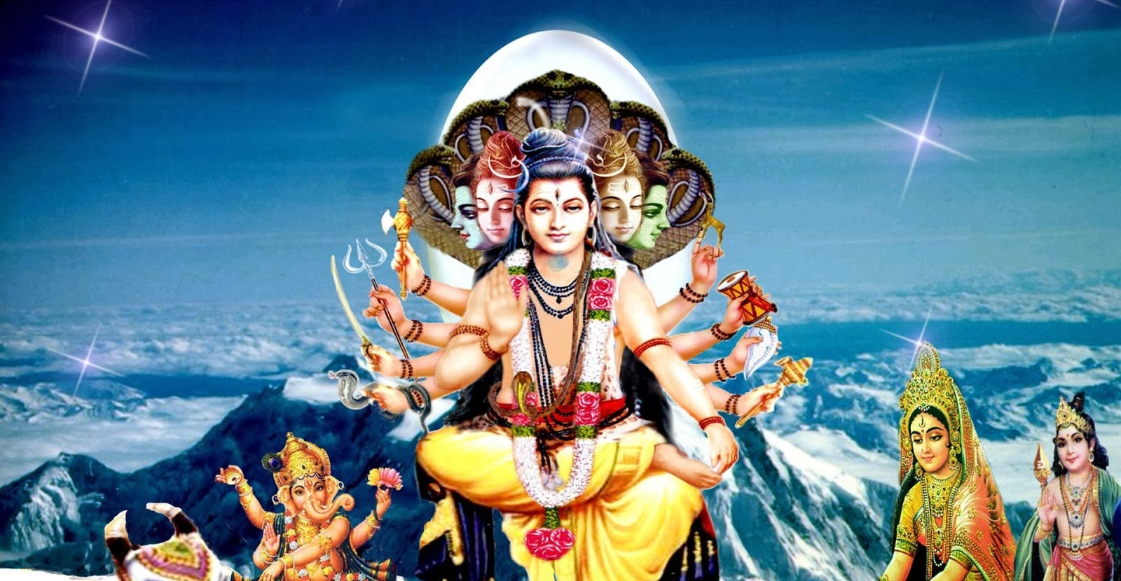 Happy Maha Shivaratri 2014 HD Wallpapers and Images Lord shiva and other Gods