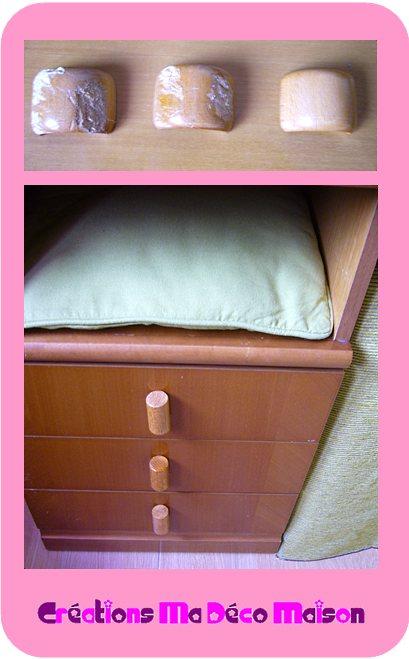 bouton poign e de tiroir fait maison cr ations ma d co maison. Black Bedroom Furniture Sets. Home Design Ideas