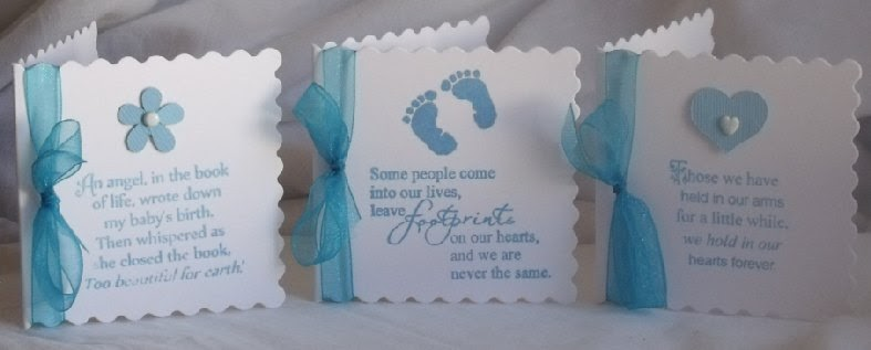 stampingallday blogspot  baby loss  sympathy verse stamps