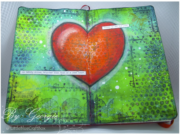 Mixed Media World Challenge - Use Bright Colours