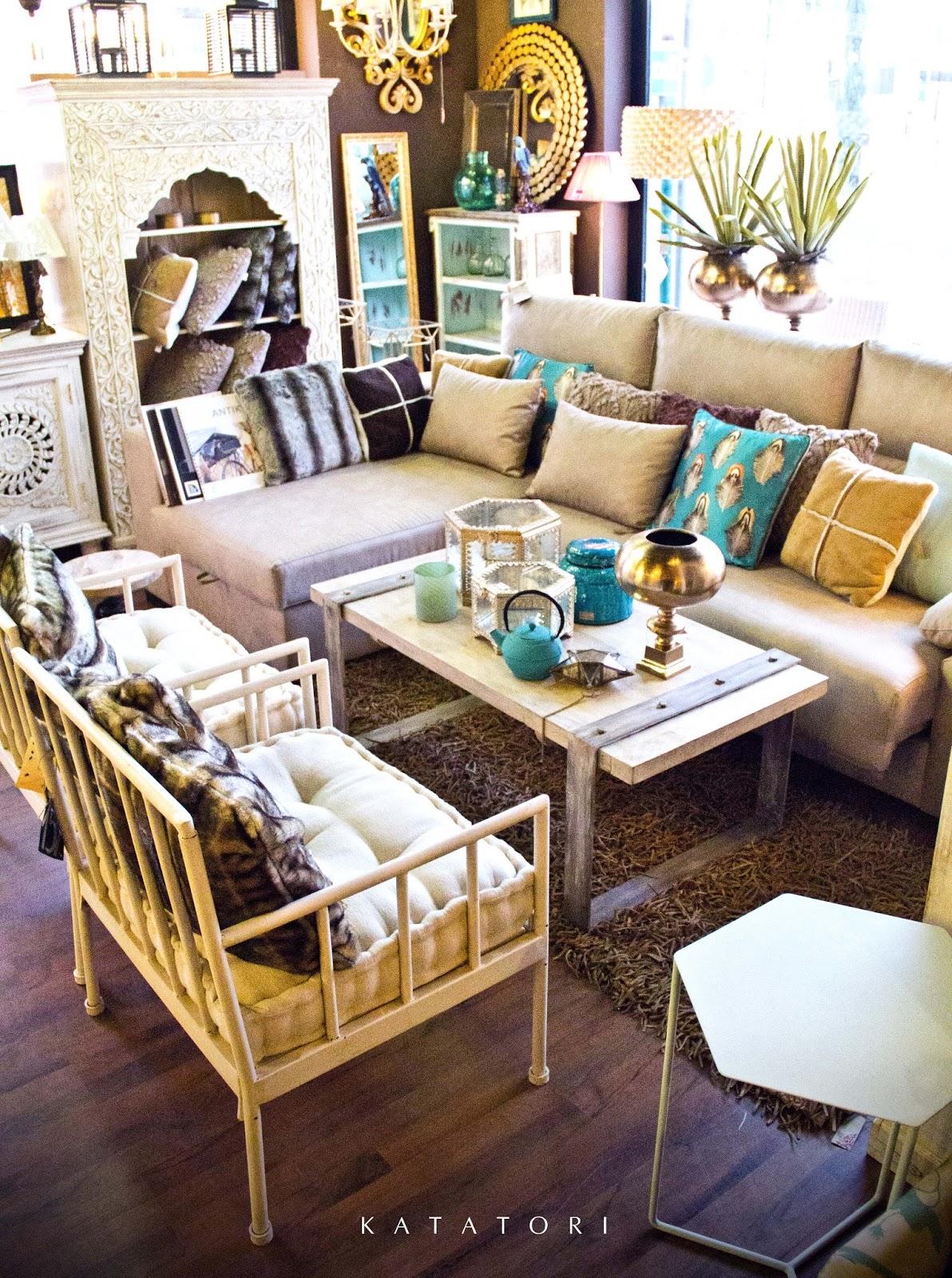 Katatori interiores tonos neutros for Muebles quivir en sevilla
