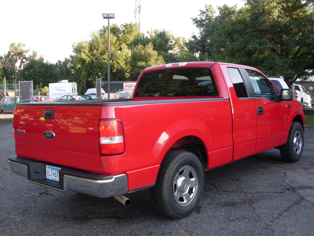 Ride Auto 2008 Ford F150 Red 2wd