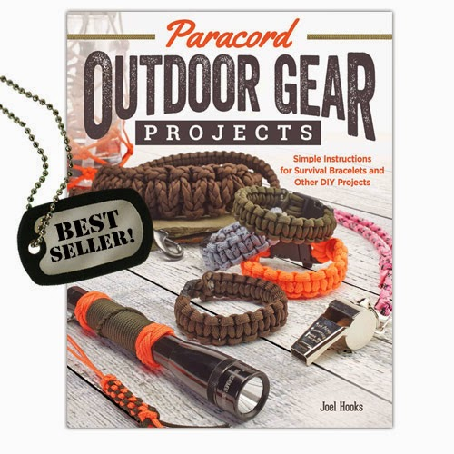 Bestselling book OUTDOOR GEAR PROJECTS by Joel Hooks