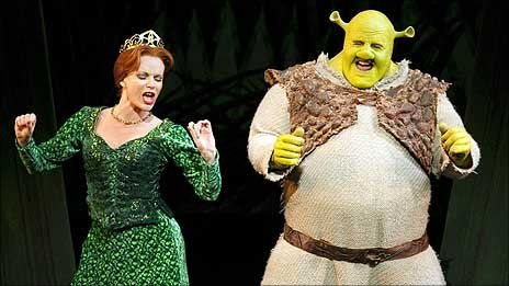 musical theatre diary etc review shrek the musical