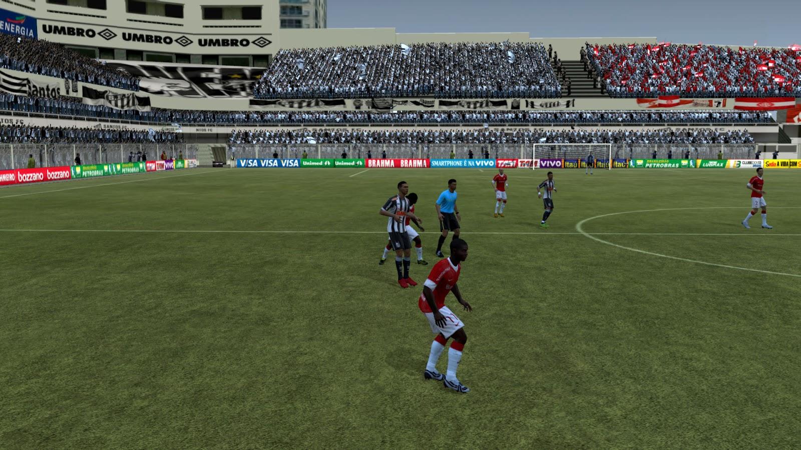 fifa12 vila+belmiro2 FIFA 12: Estádio Vila Belmiro