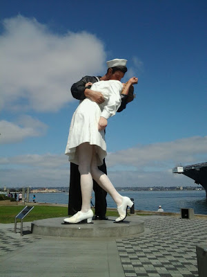 WW II Statue, Seaport Village, San Diego, California
