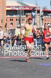Recta final de la marató de BCN 2011