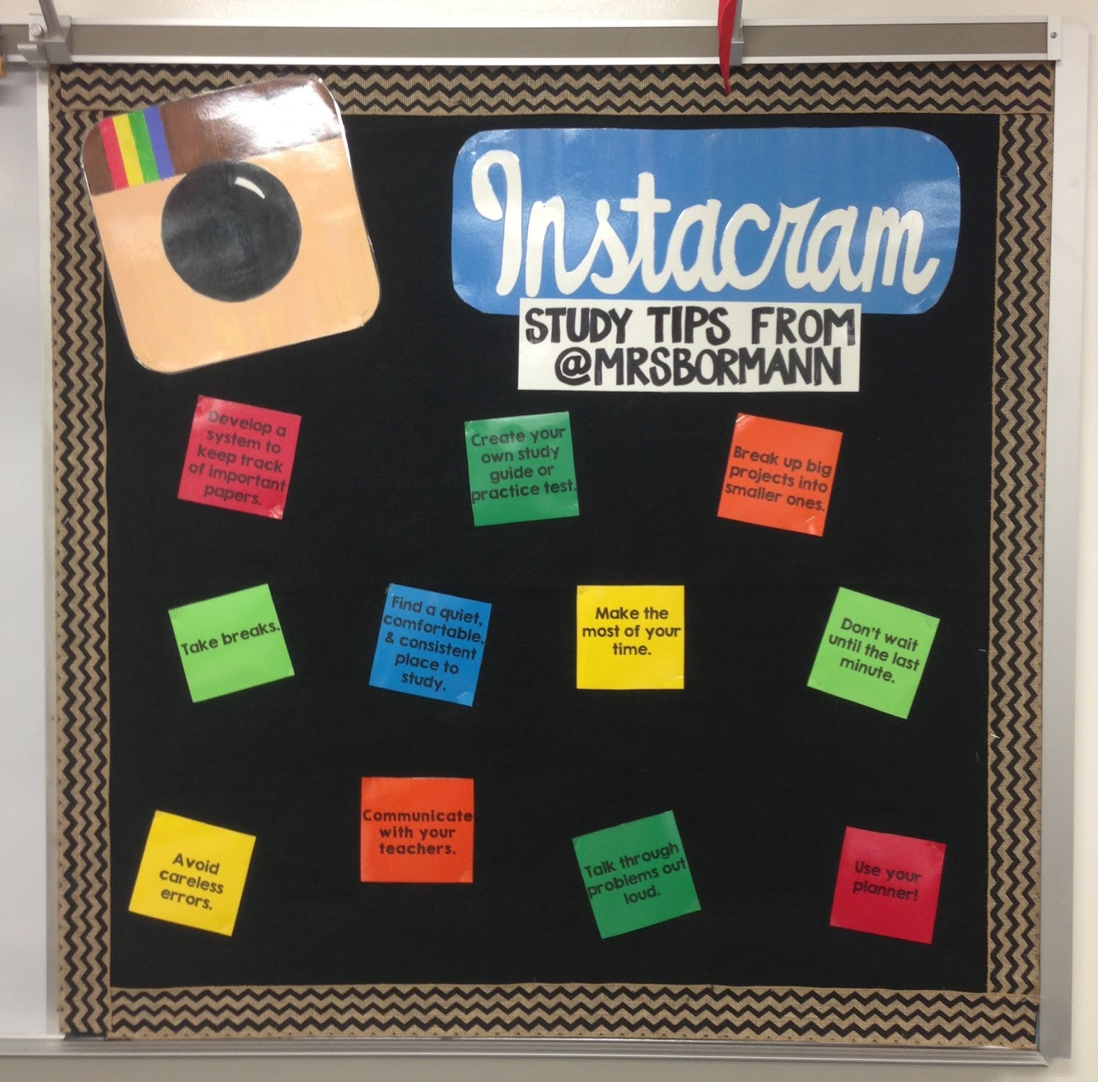 Classroom Bulletin Boards on 2013 Classroom Reveal At Last