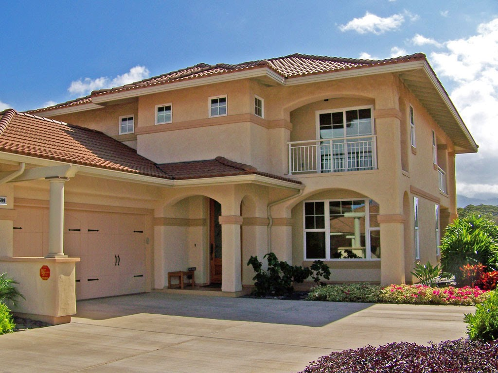 Home exterior ideas januari 2015 - How much to stucco exterior of house ...