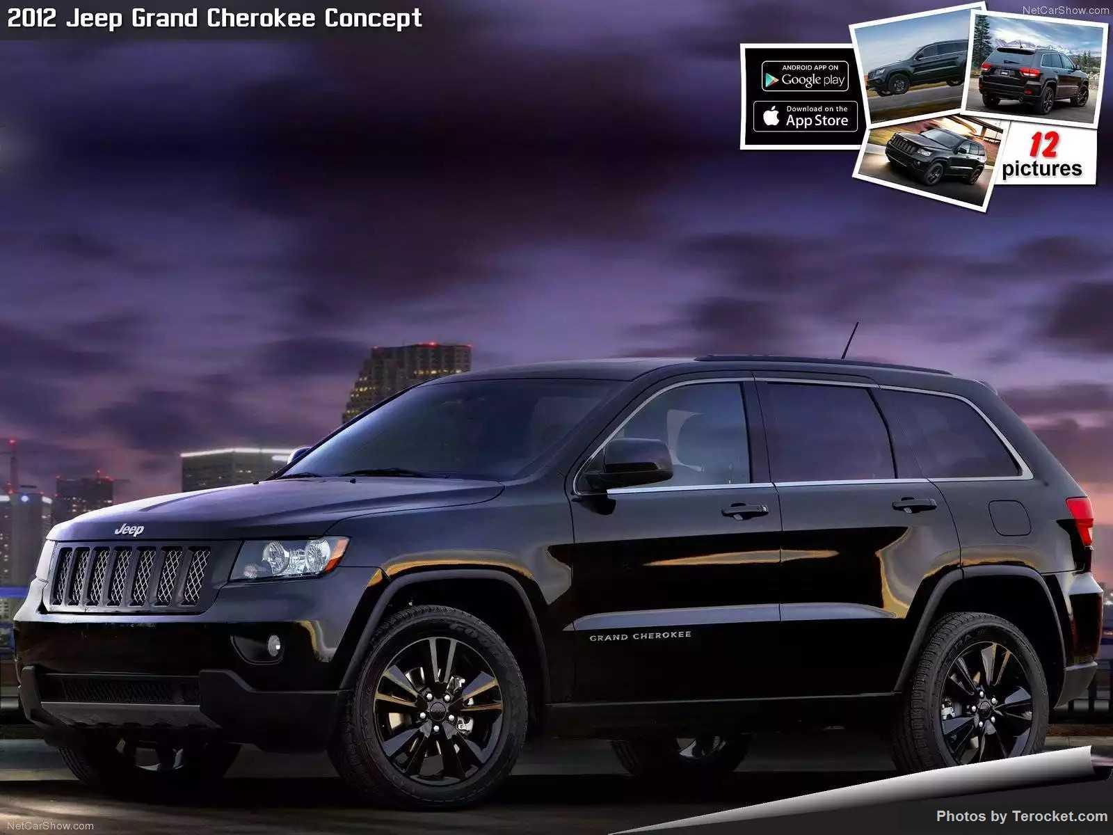 Hình ảnh xe ô tô Jeep Grand Cherokee Concept 2012 & nội ngoại thất