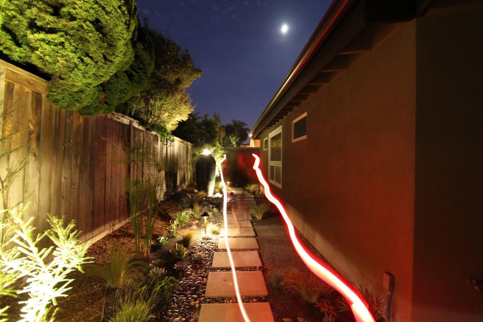 lighting a mid century modern landscape design mid century modern