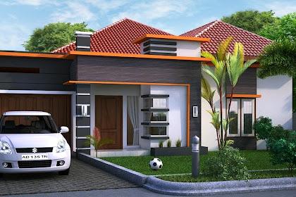 Gambar Desain 3D Rumah bangunan lengkap