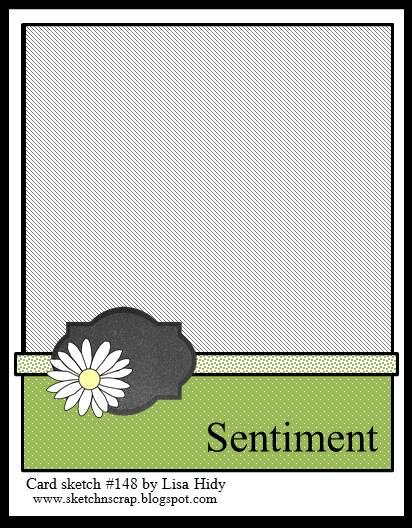 June 20th card sketch