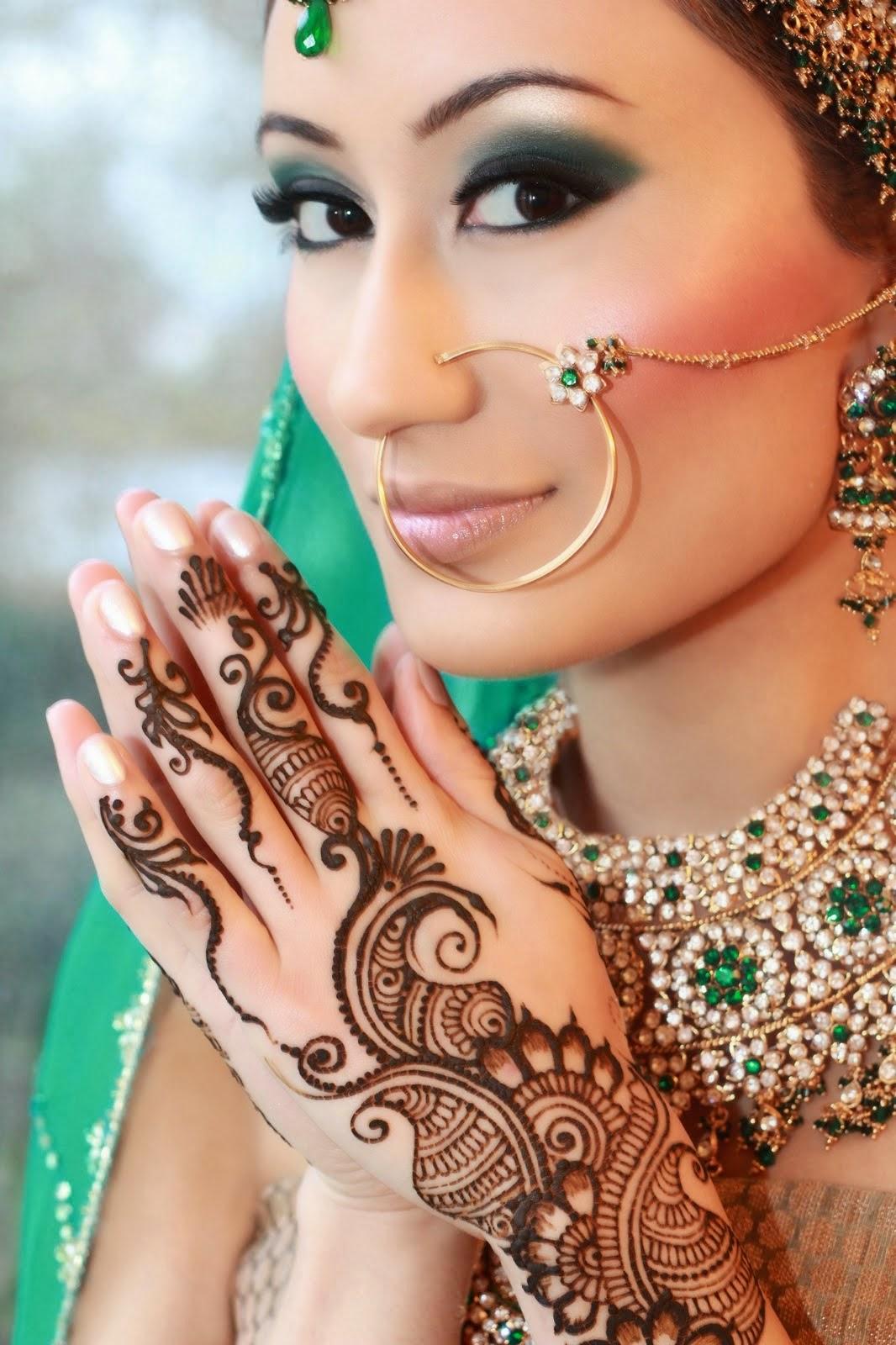 Urdu Blogs All About Urdu Posts Wallpaper Indian Bridle Makeup