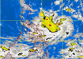 PAGASA: Bagyong SANTI Update as of Wednesday, October 9, 2013