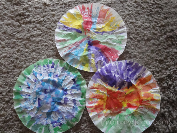 How To Make Coffee Filter Butterflies Spring Crafts For Kids