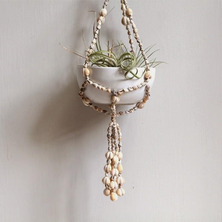 Seashell Craft Wall Hanging Decoration Ideas