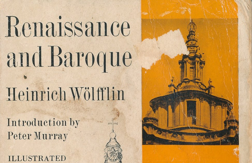 WOLFFLIN RENAISSANCE BAROQUE EBOOK