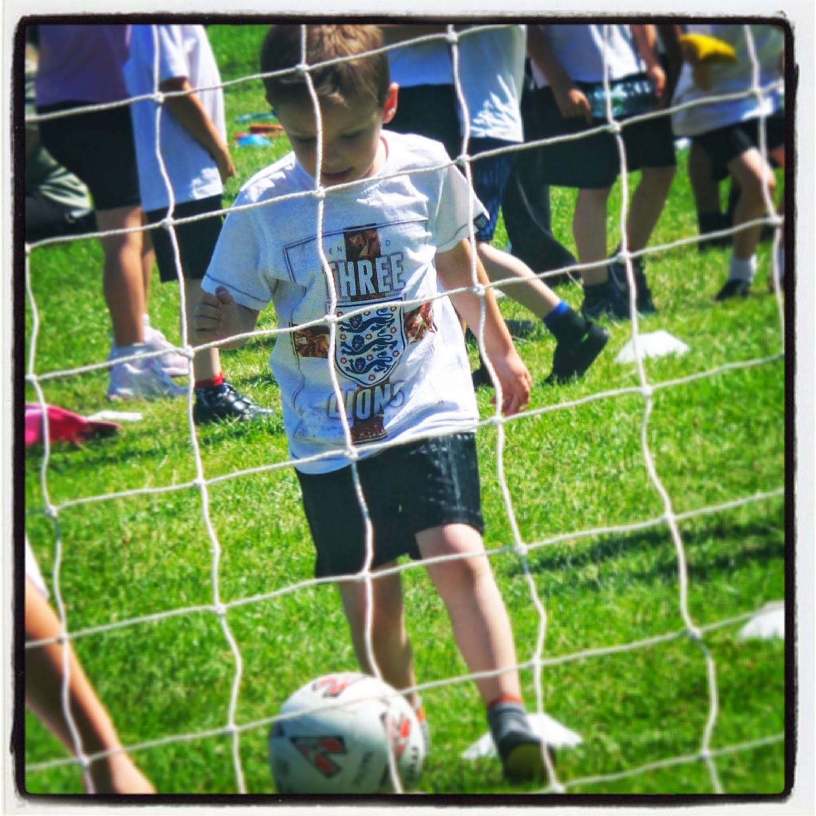carsonsmummy, sports day, football
