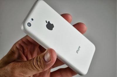 جوال أى فون 5c البلاستيك البسيطة .