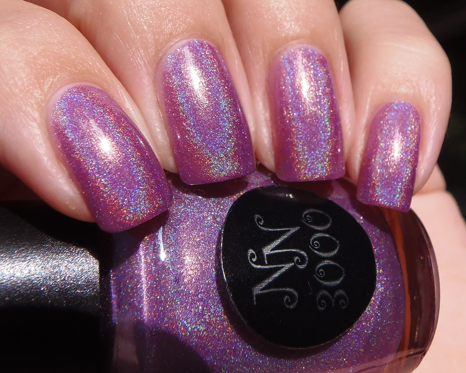 Sparkly Vernis: Purple Holo Week: Nail Nation Passionate is the ...