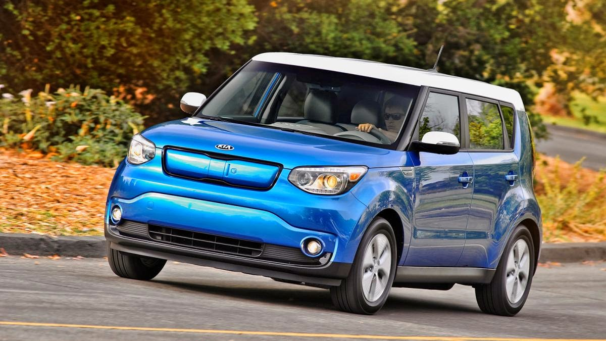 2015 Kia Soul EV drive review