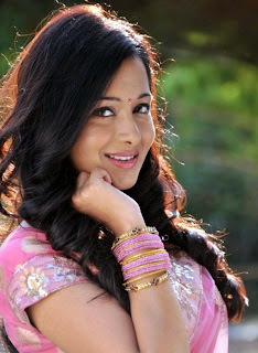 Preetika Rao in Cute Beautiful Transparent Spicy Pink Saree Must See HQ Pics