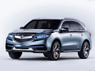 best 7 seater luxury suvs Acura MDX