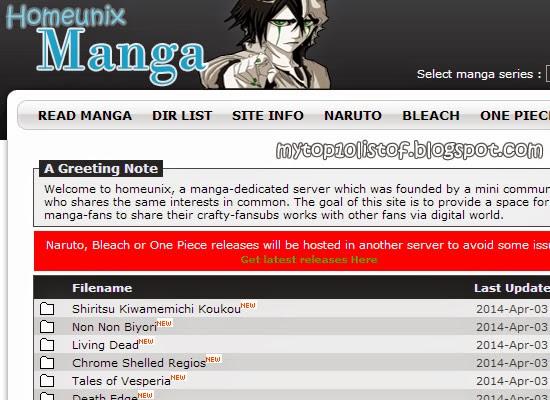 Unix Manga