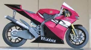 Motor Sport - Yamaha YZR-M1 Papercraft