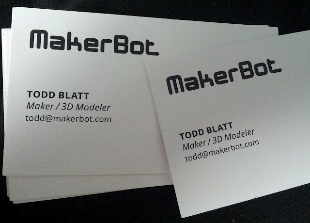 Im a maker with a business card to prove it todd blatt ive been bouncing around at a couple short term places but next week ill be moving to williamsburg now that i have a more permanent place reheart Images