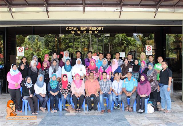 Wordless Wednesday #8 - Kursus Pengurusan Stress - Coral Bay Pulau Pangkor