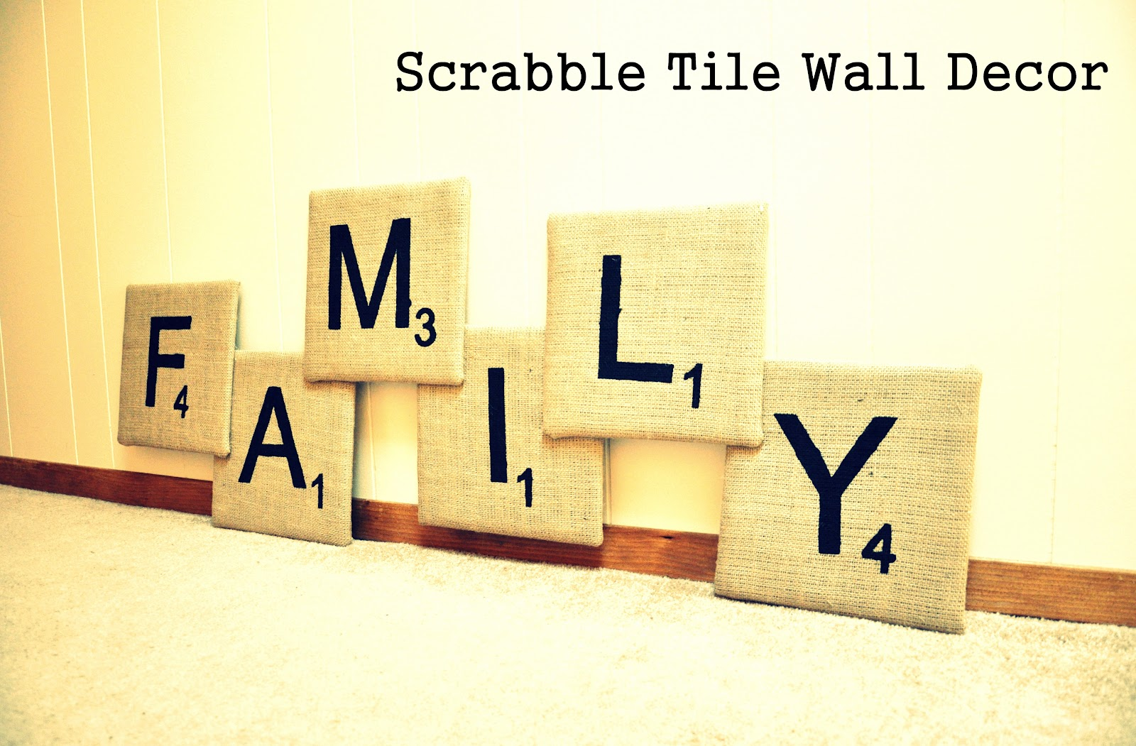 Scrabble Letter Wall Decor The Kc Experience Tutorial Family Scrabble Tile Wall Decor