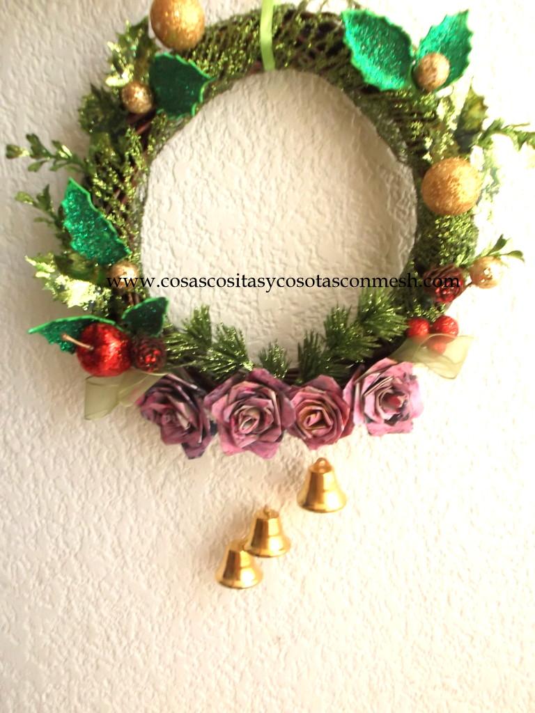 Manualidades decorativas para navidad cositasconmesh - Para navidad manualidades ...